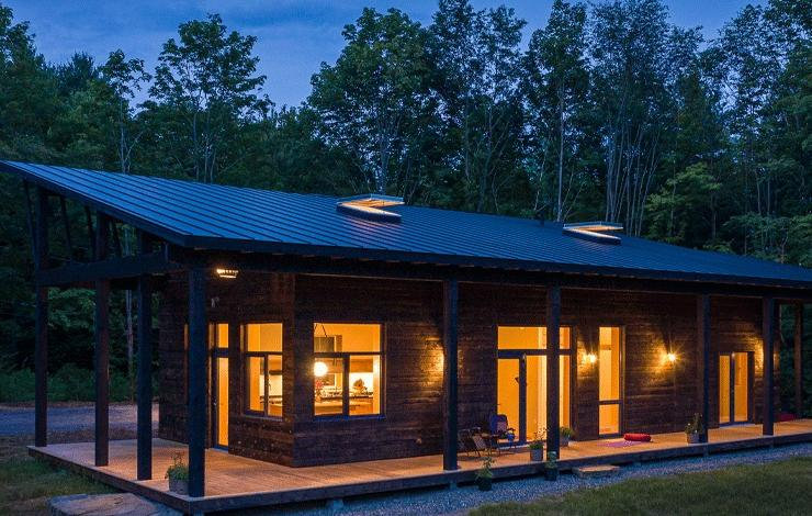 Maple Corner Passive House using Partel airtight systems, achieves PHIUS+2018 certification