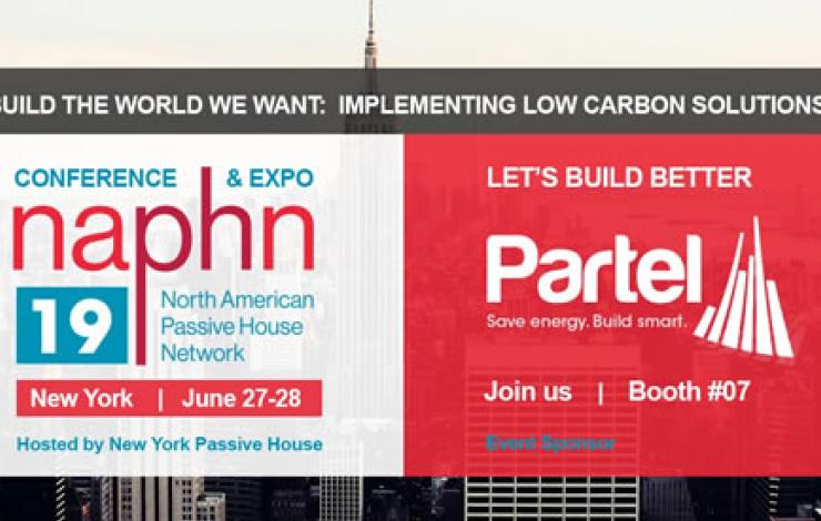 Partel - sponsor at NAPHN19 Conference & Expo in New York