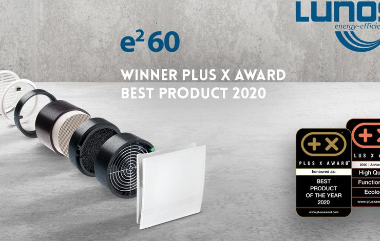 LUNOS e²60 supplied by Partel has been voted the best product of the year