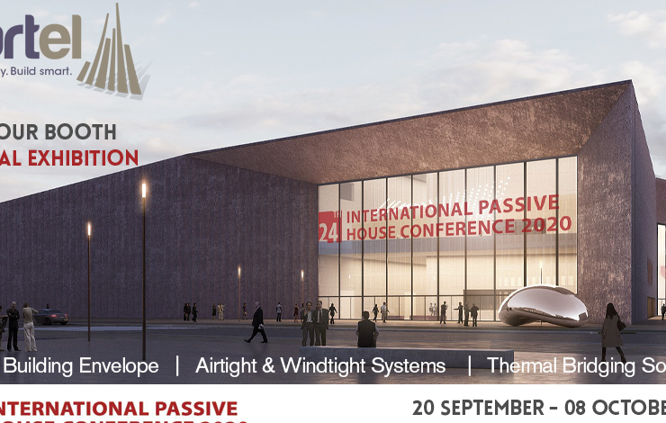 Partel is exhibiting at the 24th International Passive House Conference