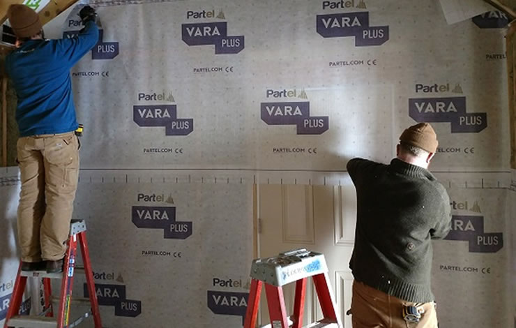 Vermont low energy retrofit use Vara Plus
