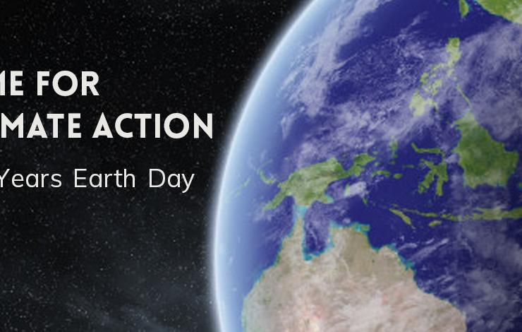 50 Years Earth Day - Let's Build Energy Efficient