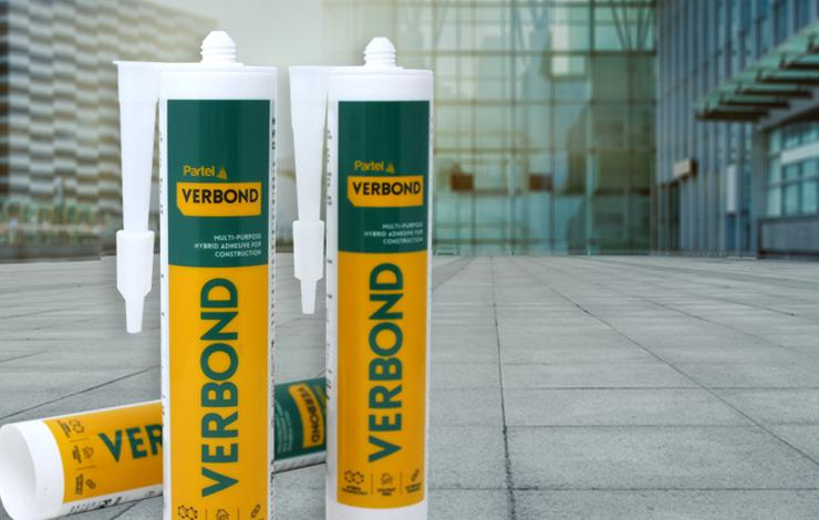 Partel introduces VERBOND™, latest multi-purpose sealing adhesive for construction
