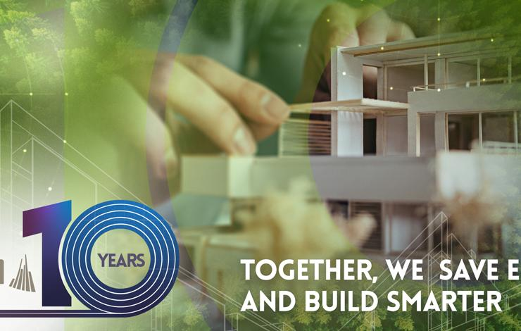 10 years of technical solutions for a smarter way to build energy-efficient