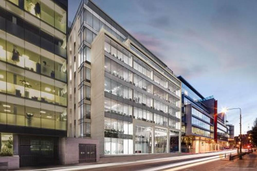 3 Park Place Dublin - 7 storey Landmark building uses Partel Airtight materials
