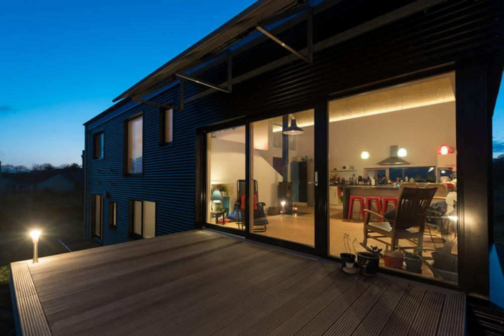 """""""Barn House"""" features Partel supplied Air and windtight systems."""