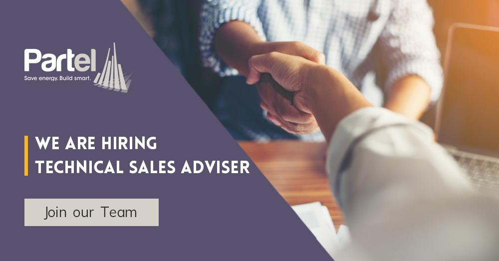 Partel is looking for Technical Sales Adviser