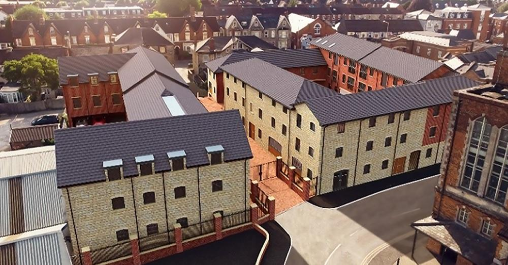 LUNOS Ventilation provides exceptional indoor air quality to residents of Philips Lane in Old Town Swindon