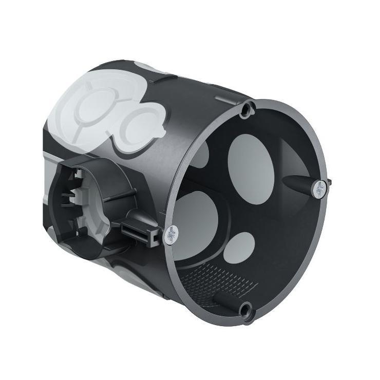 Airtight flush-mounting box