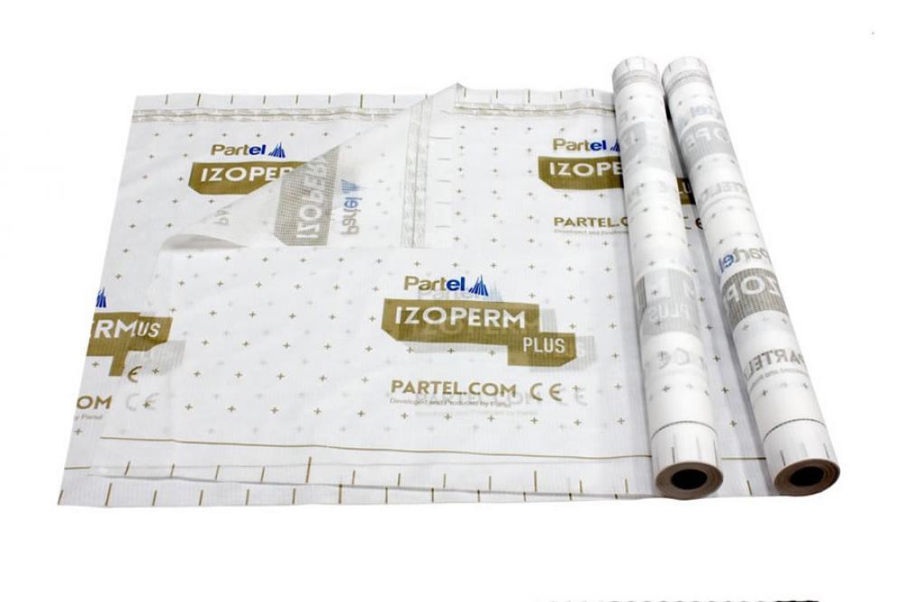 Partel Products IZOPERM PLUS - phA Vapour control membrane