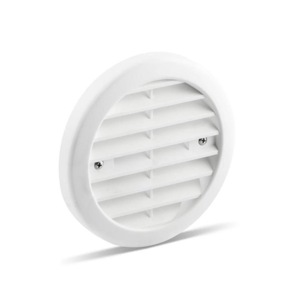 Partel Products Plastic Grille 115 mm-White