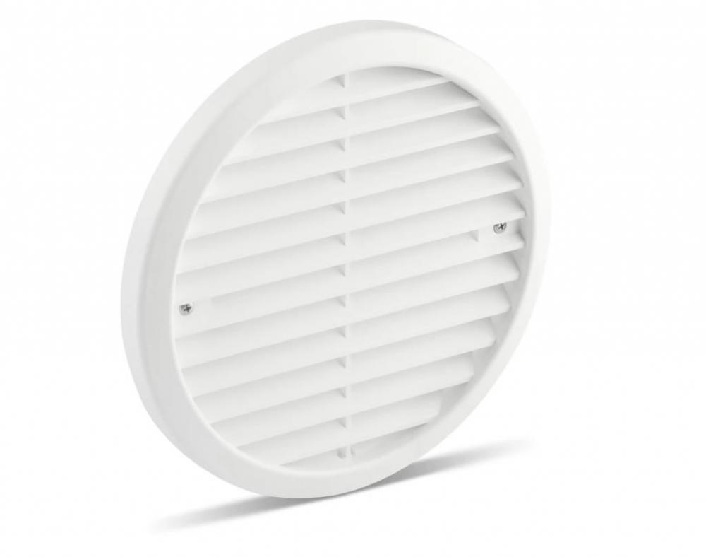 Partel Products Plastic Grille 180 mm-White