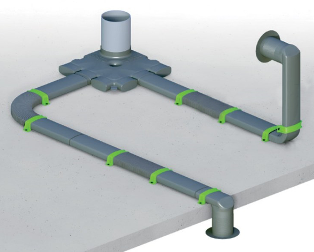 Partel Products EasyFlow Air Duct System