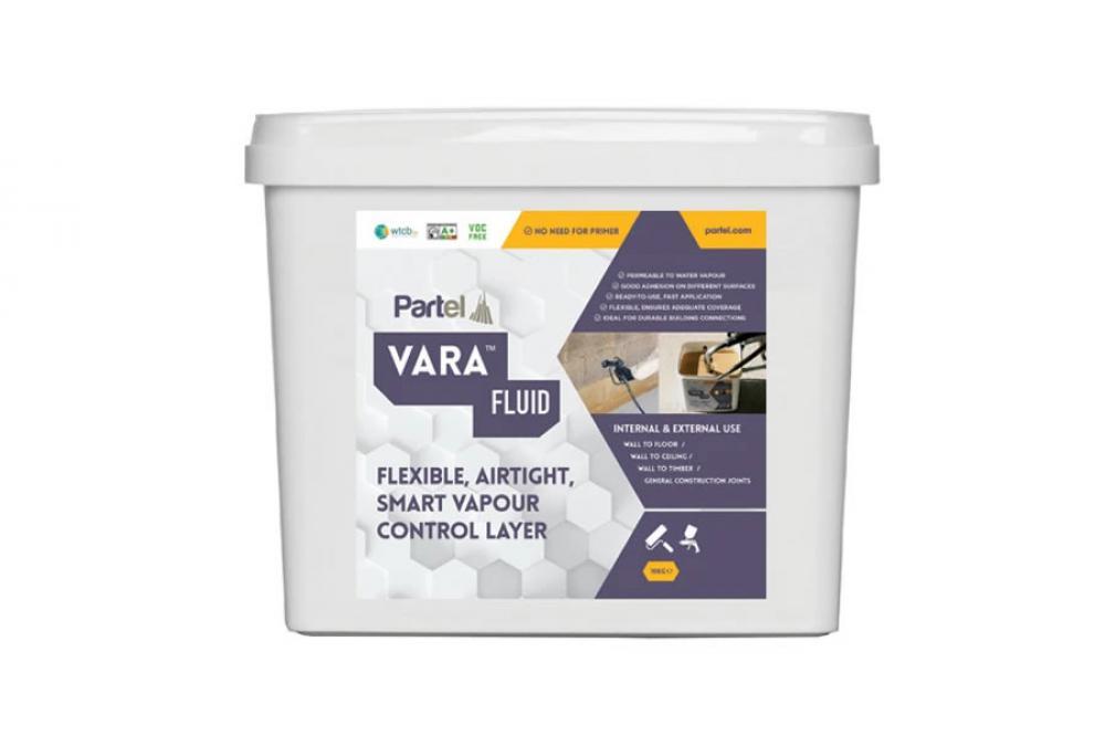 Partel Products VARA FLUID Spray - Fluid applied membrane